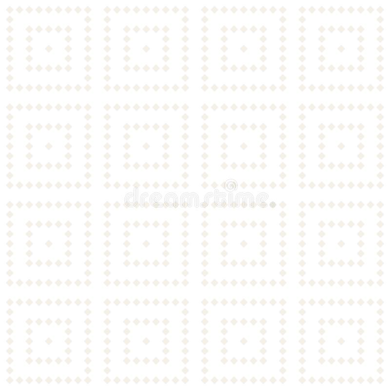 Modelo inconsútil del tracery Enrejado repetido stock de ilustración