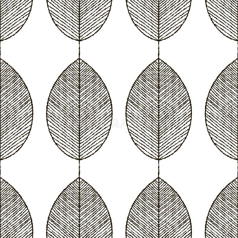 Modelo inconsútil del vector abstracto stock de ilustración