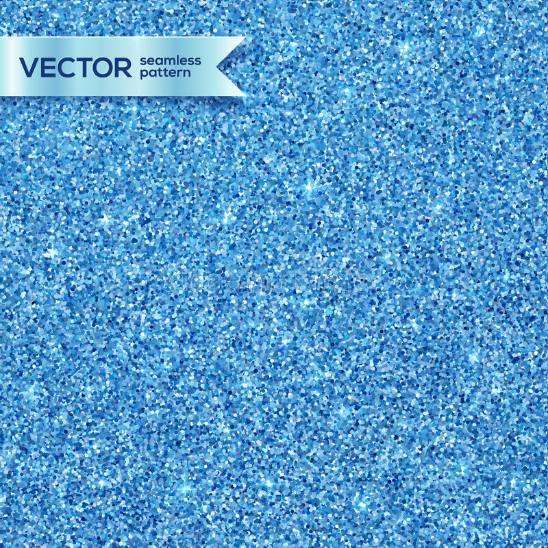 Modelo inconsútil del vector brillante azul del brillo libre illustration