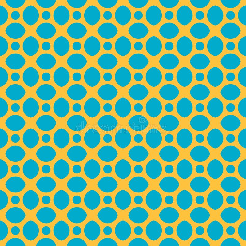 Modelo inconsútil del vector de piedras geométricas abstractas ilustración del vector
