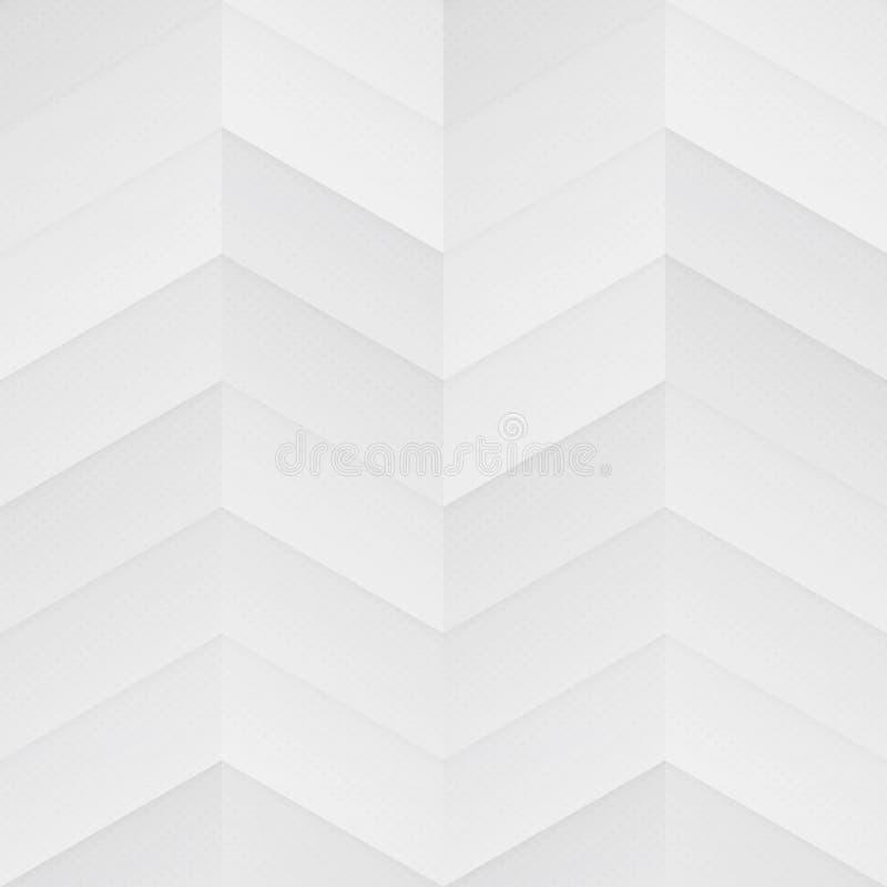 Modelo inconsútil del zigzag blanco fotos de archivo libres de regalías