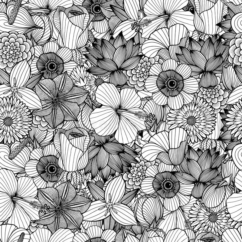 Modelo inconsútil floral libre illustration