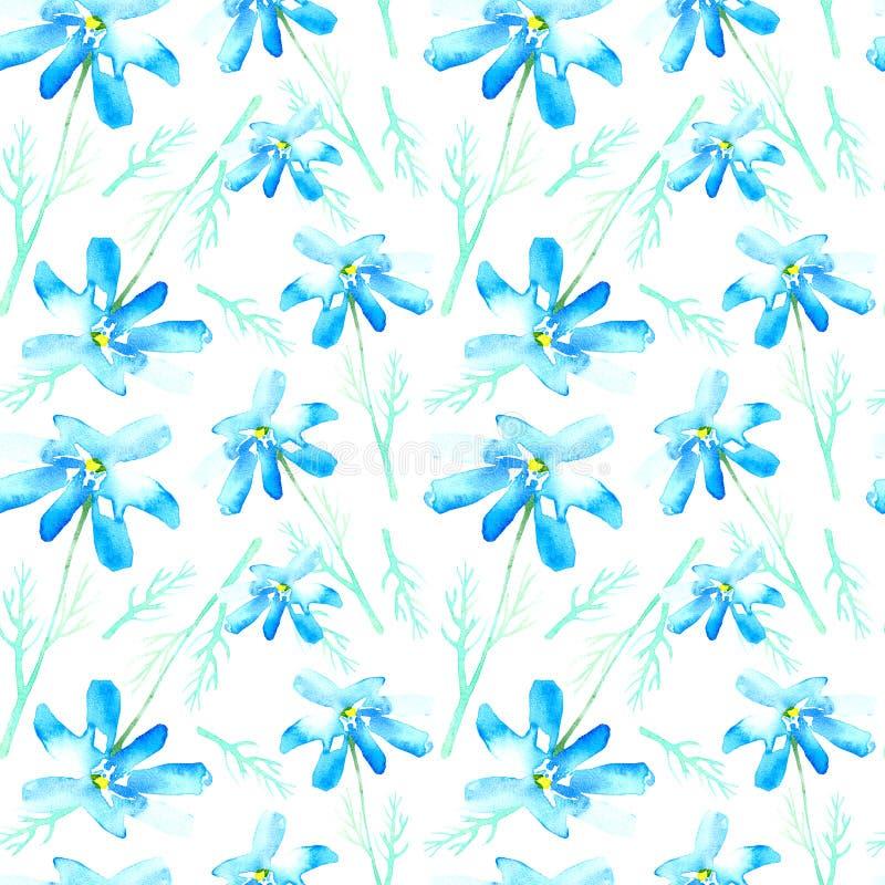 Modelo inconsútil floral con las flores de la margarita libre illustration