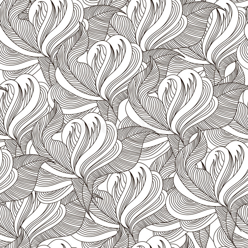 Modelo inconsútil floral hermoso libre illustration