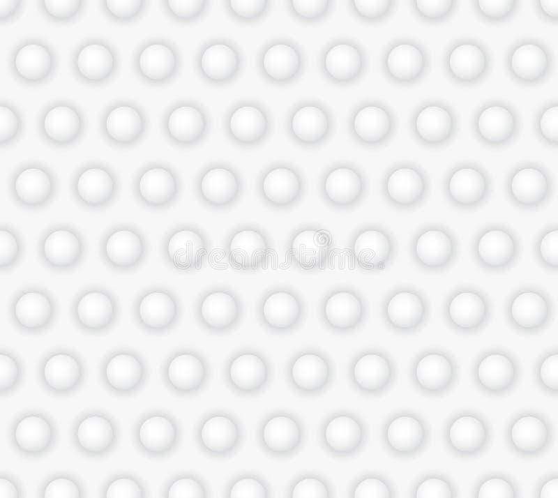 Modelo inconsútil geométrico abstracto con los círculos stock de ilustración