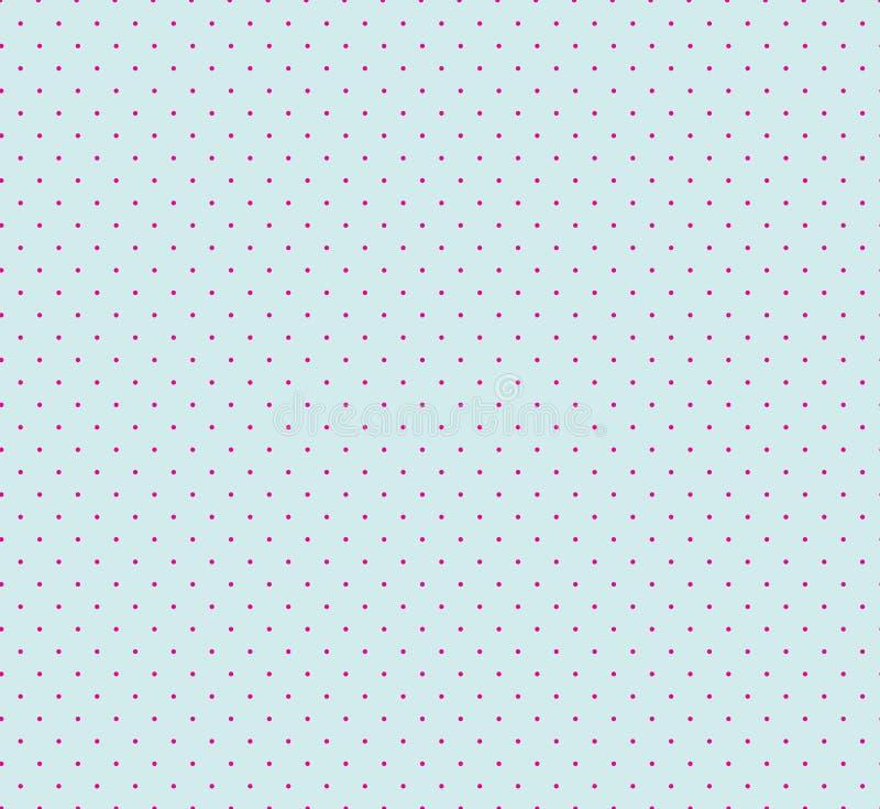Modelo inconsútil geométrico abstracto con los puntos Azul ornamental b ilustración del vector