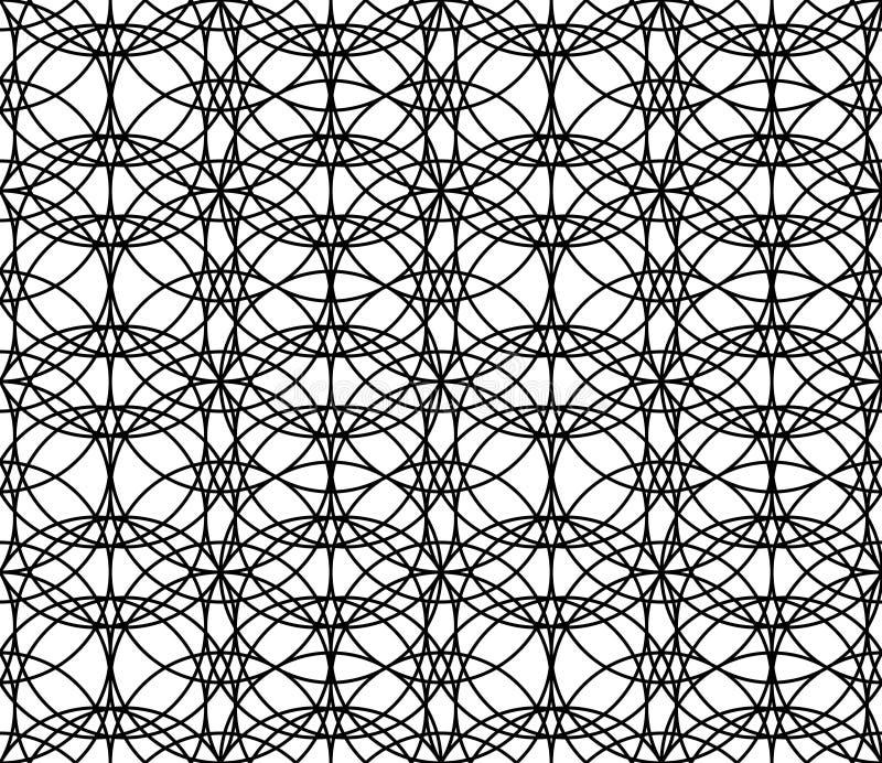 Modelo inconsútil geométrico adornado libre illustration