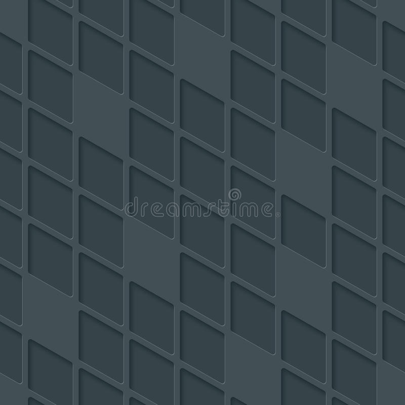 Modelo inconsútil geométrico de alta tecnología abstracto ilustración del vector