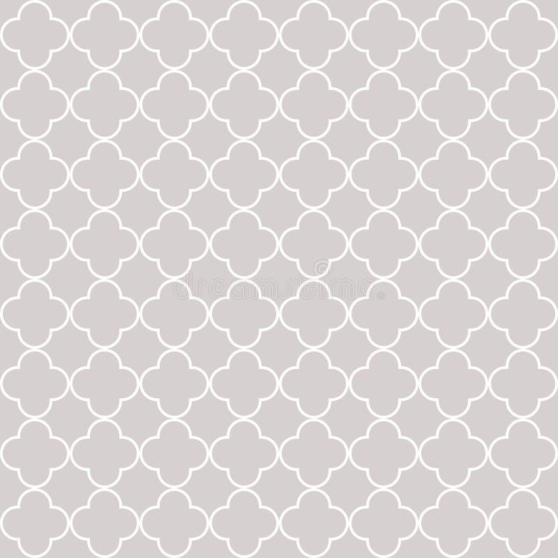Modelo inconsútil geométrico de Quatrefoil libre illustration