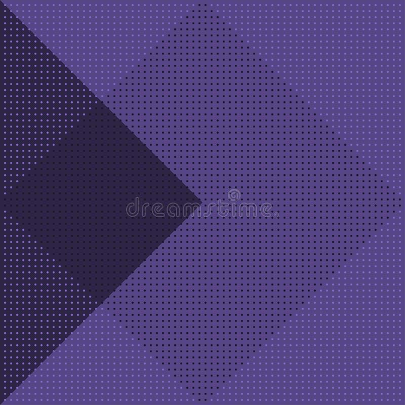 Modelo inconsútil geométrico del vector textura con estilo moderna ilustración del vector
