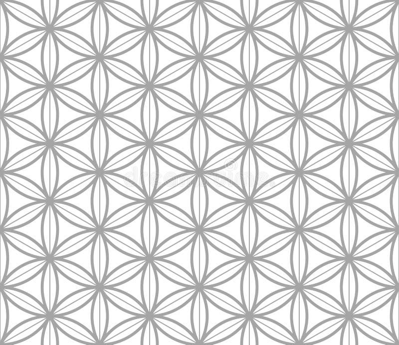 Modelo inconsútil geométrico en estilo asiático libre illustration