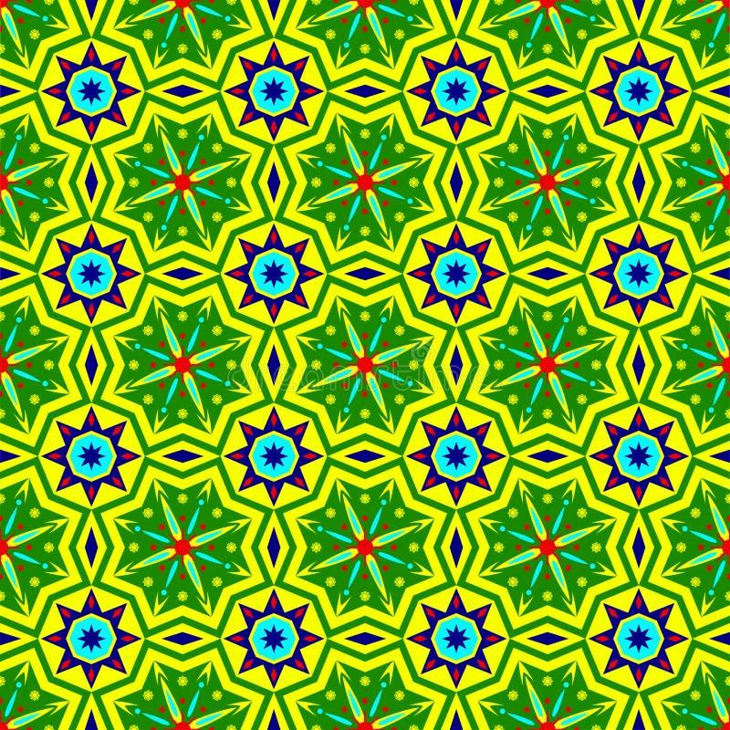 Modelo incons?til geom?trico simple ?tnico del fondo del adorno del batik Inspiraci?n elegante del dise?o del vector de la impres stock de ilustración