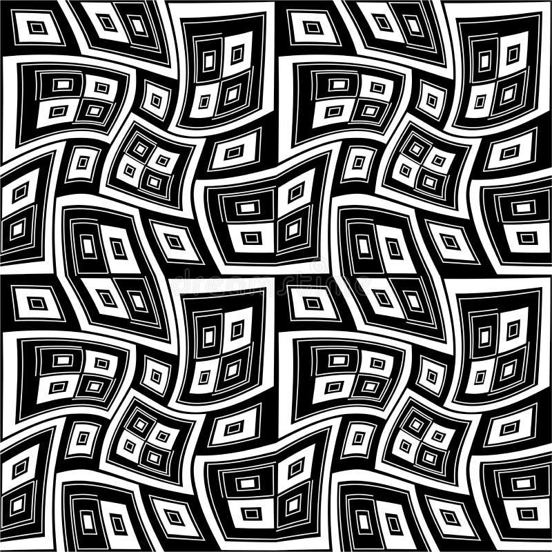 Modelo inconsútil moderno de la geometría del vector torcido libre illustration