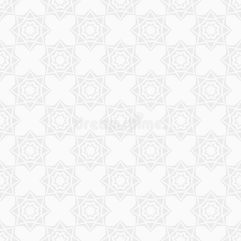 Modelo inconsútil oriental Modelo árabe del estilo Repetición del ornamento geométrico libre illustration