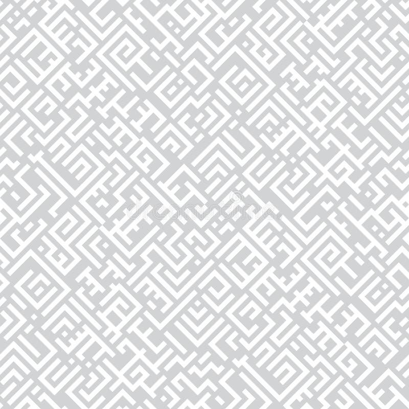 Modelo inconsútil para las materias textiles y el papel pintado Vector geométrico del modelo ilustración del vector