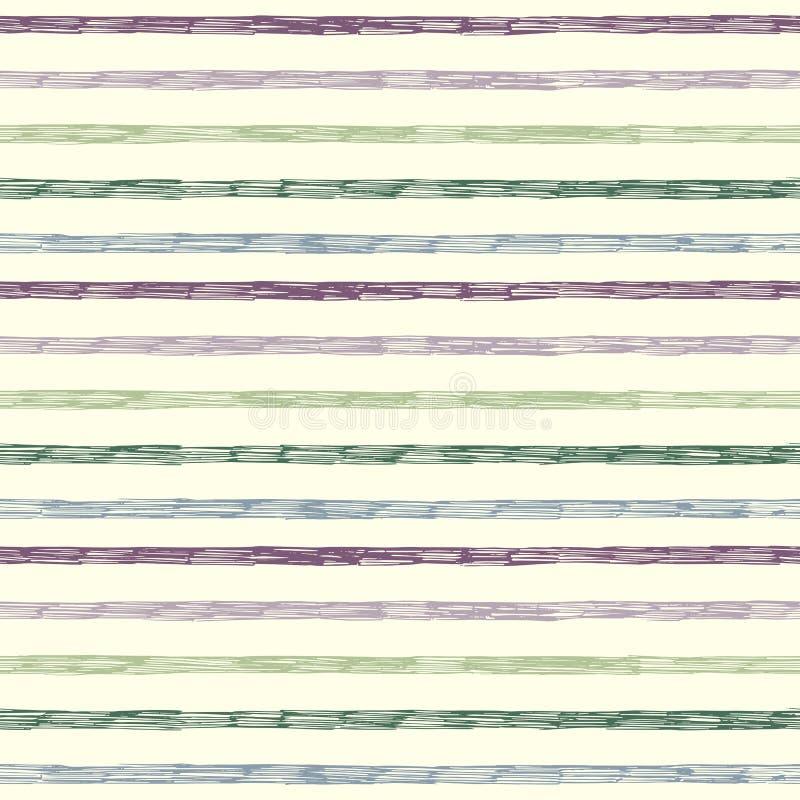 Modelo inconsútil rayado abstracto ilustración del vector
