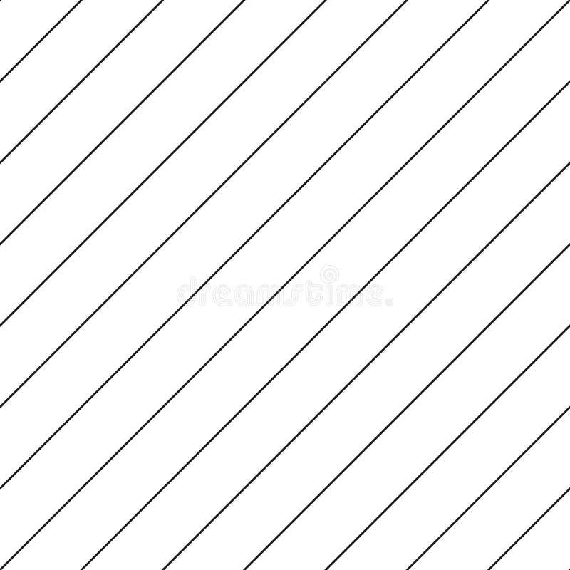 Modelo inconsútil rayado - la diagonal alinea el fondo libre illustration