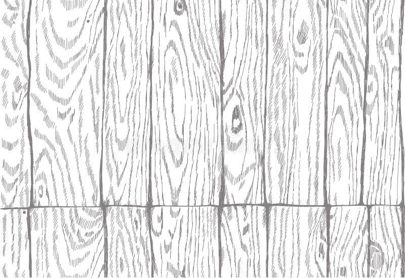 Modelo inconsútil tablero de madera de imitación negro fotos de archivo