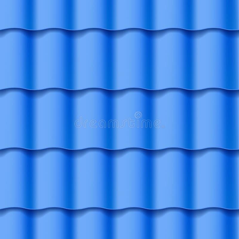 Modelo inconsútil tejado del tejado libre illustration