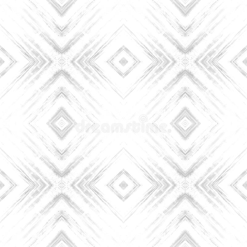 Modelo inconsútil tribal abstracto del Rhombus Textura moderna Repetición de las tejas geométricas Impresión de la tela de materi imágenes de archivo libres de regalías