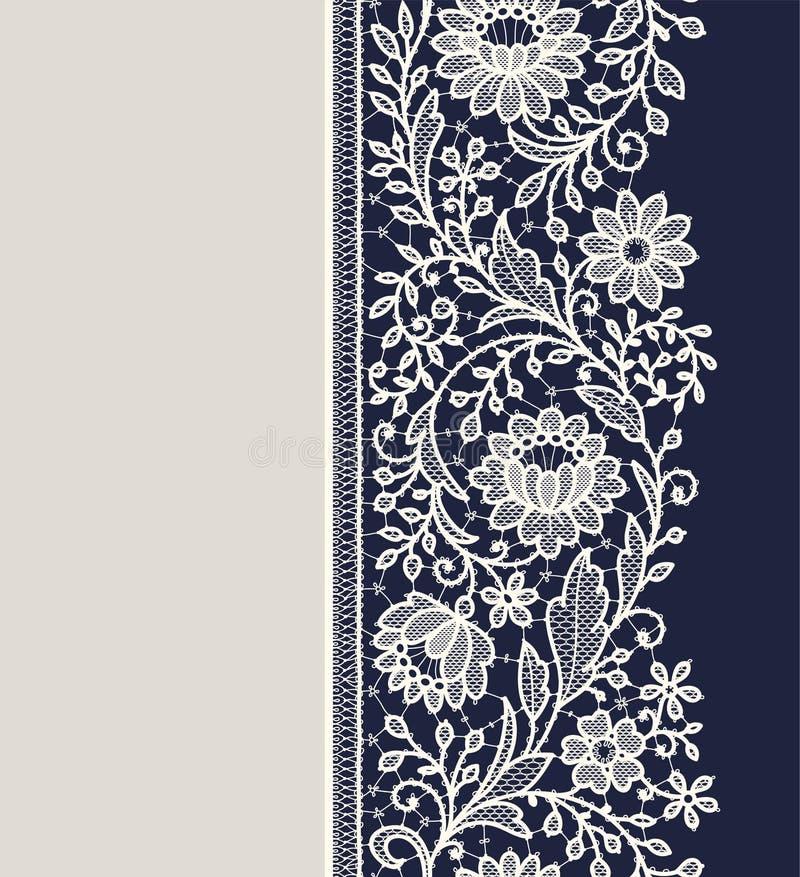 Modelo inconsútil vertical de la cinta del cordón libre illustration