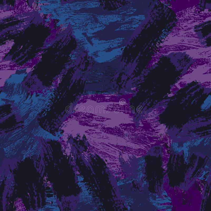 Modelo incons?til abstracto Fondo decorativo de Grunge Art Rough Stylized Texture Banner con el espacio para el texto stock de ilustración