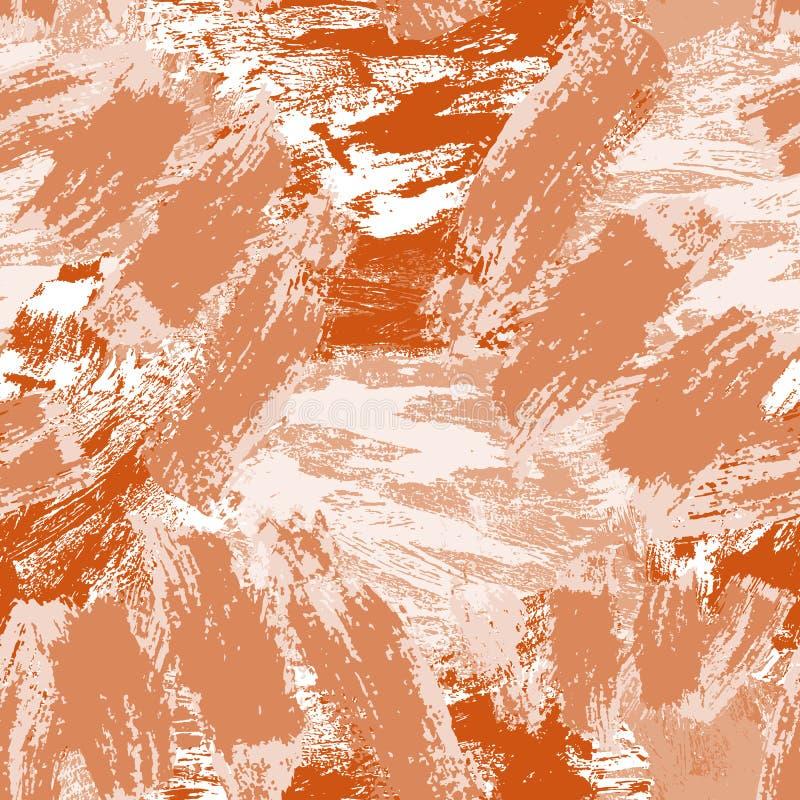 Modelo incons?til abstracto Fondo decorativo de Grunge Art Rough Stylized Texture Banner con el espacio para el texto libre illustration