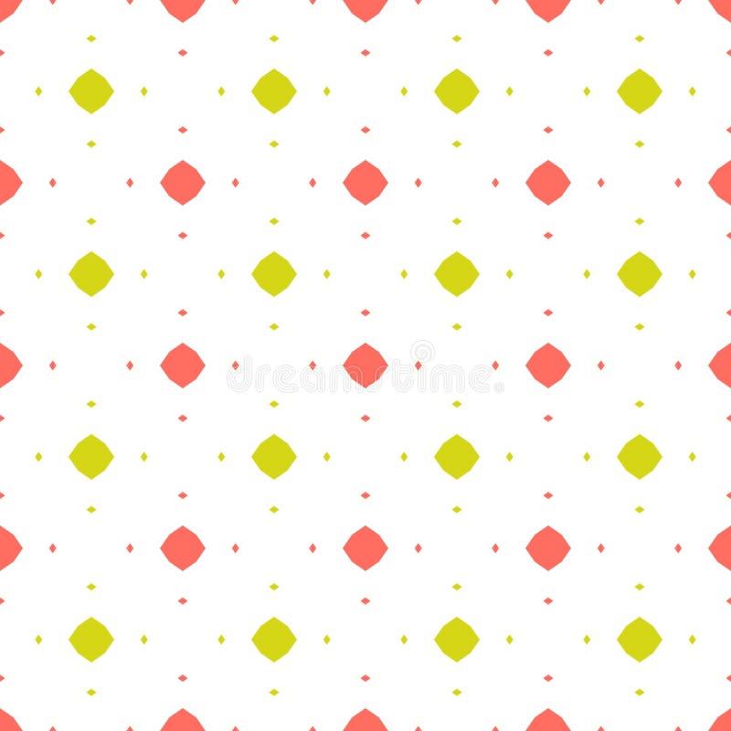 Modelo incons?til colorido abstracto del vector Fondo minimalista del estilo del verano ilustración del vector