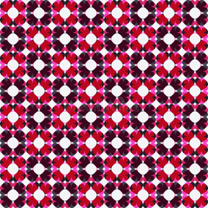Modelo incons?til colorido geom?trico abstracto ilustración del vector