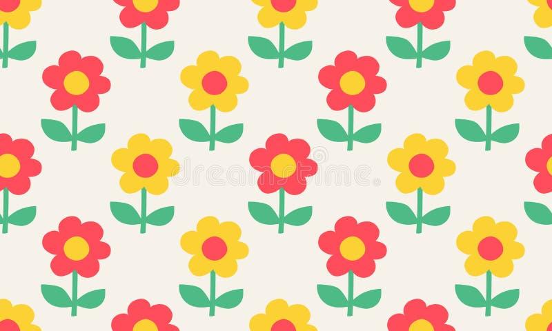 Modelo incons?til con las flores estilizadas en estilo escandinavo fotos de archivo