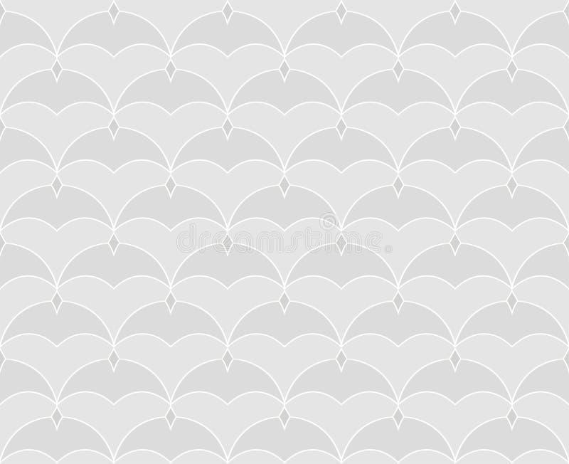 Modelo incons?til del art d?co Fondo minimalistic geom?trico del vintage Ejemplo de lujo abstracto stock de ilustración