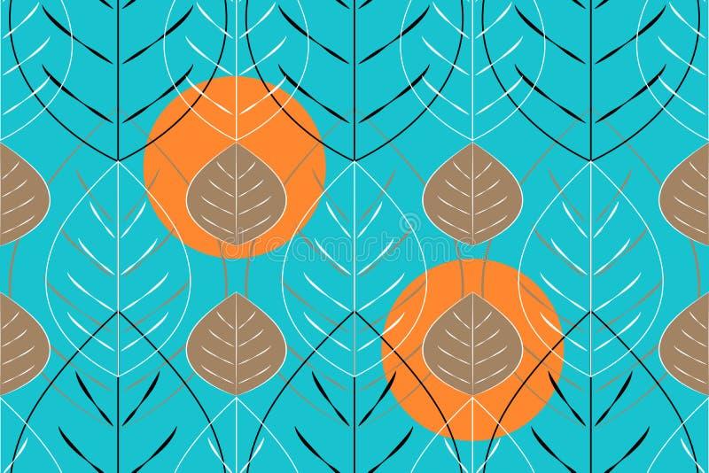 Modelo incons?til del vector floral del arte libre illustration