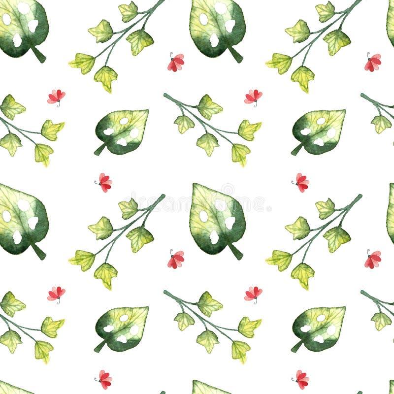 Modelo incons?til, hojas tropicales libre illustration