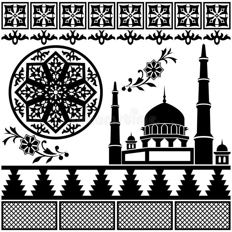 Modelo Islámico Fotografía de archivo libre de regalías