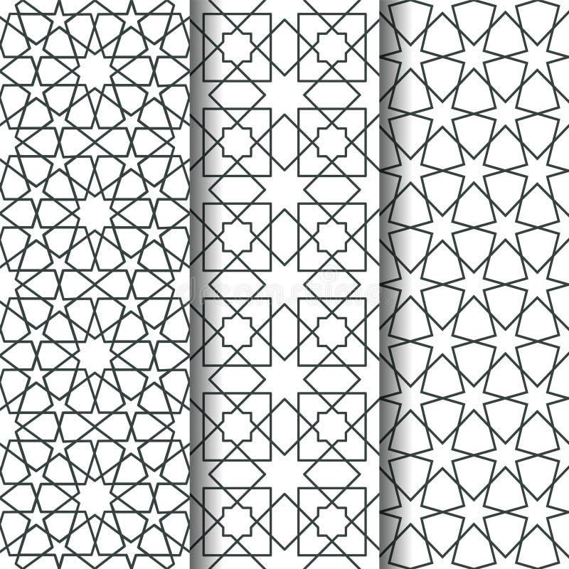 Modelo islámico de la geometría stock de ilustración
