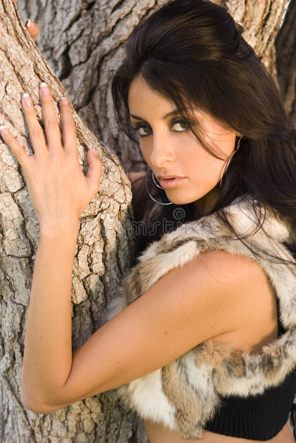Modelo Latin lindo. imagens de stock royalty free