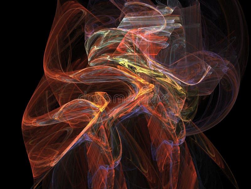 Modelo ligero multicolor imagen de archivo libre de regalías