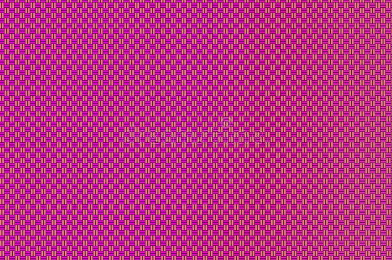 Modelo marrón rojo-violeta y arenoso de la rejilla entrelazada - de los cuadrados foto de archivo