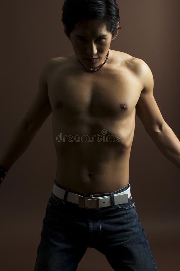 Modelo masculino 11 fotografía de archivo libre de regalías
