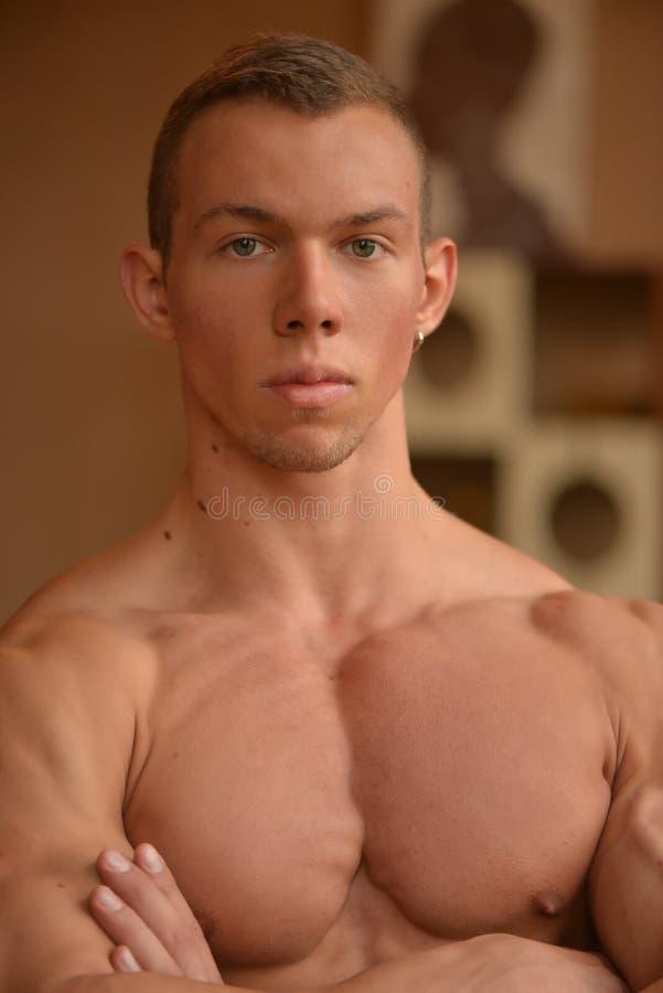 Modelo masculino imagem de stock royalty free
