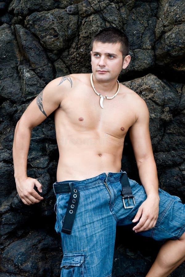 Modelo masculino foto de archivo libre de regalías