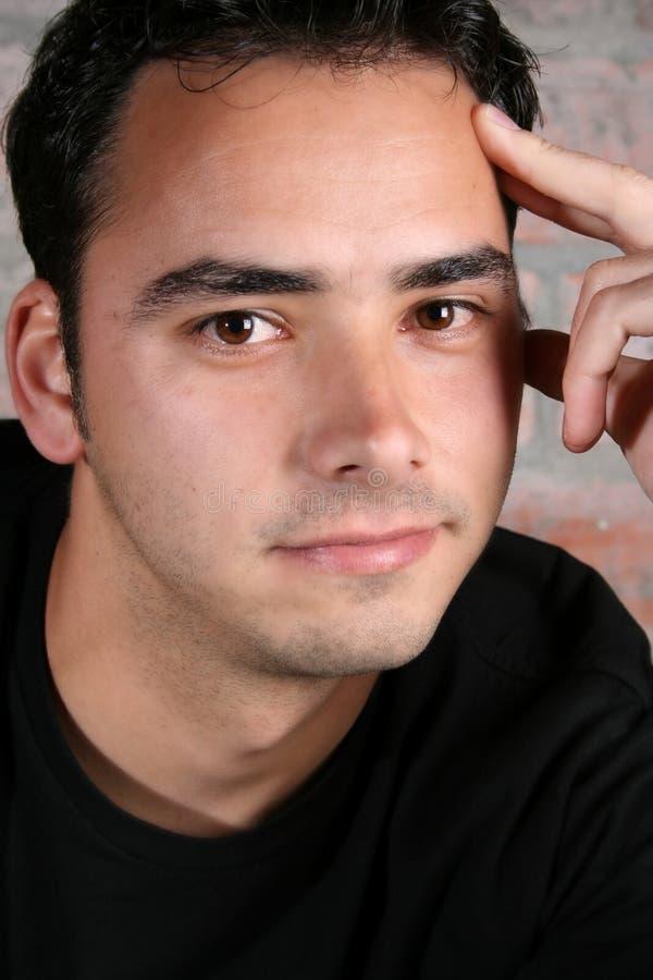 Modelo masculino fotografía de archivo libre de regalías