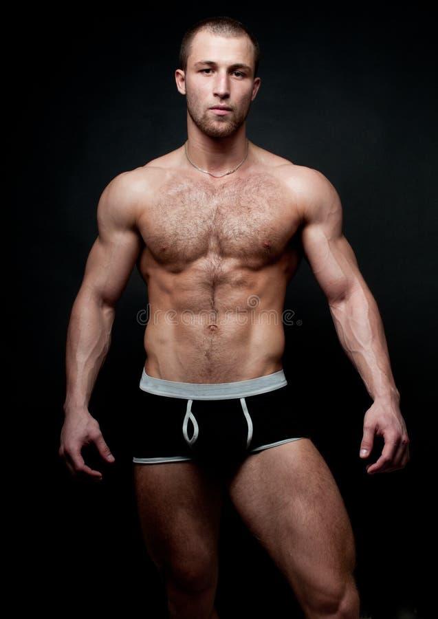 Modelo masculino caliente imagenes de archivo