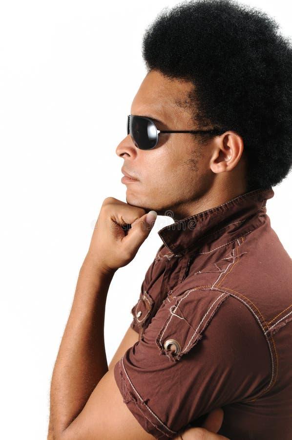 Modelo masculino de moda foto de archivo libre de regalías