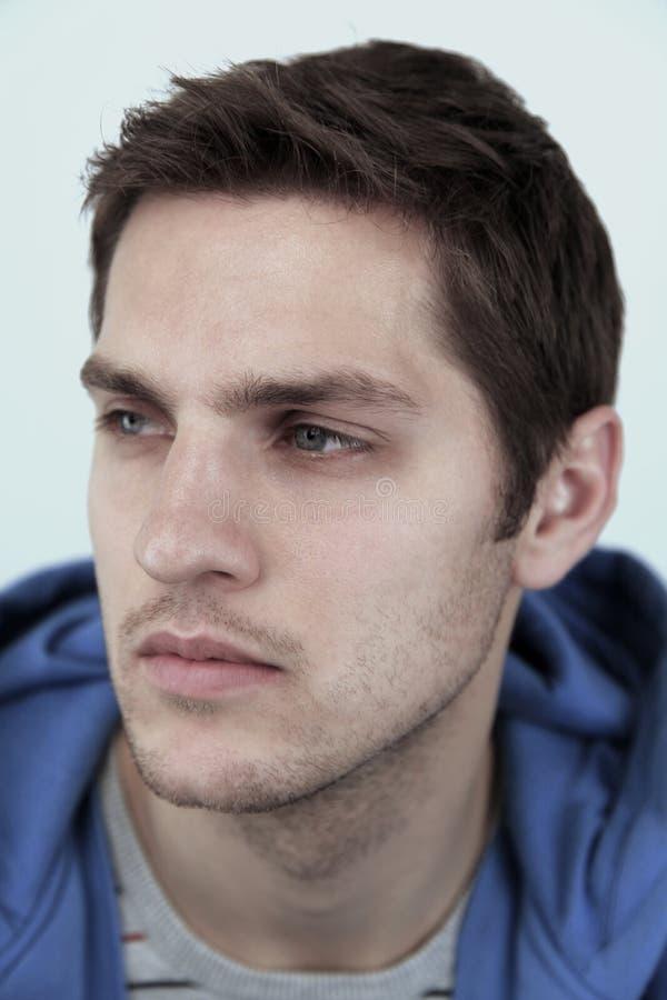 Modelo masculino hermoso fotos de archivo