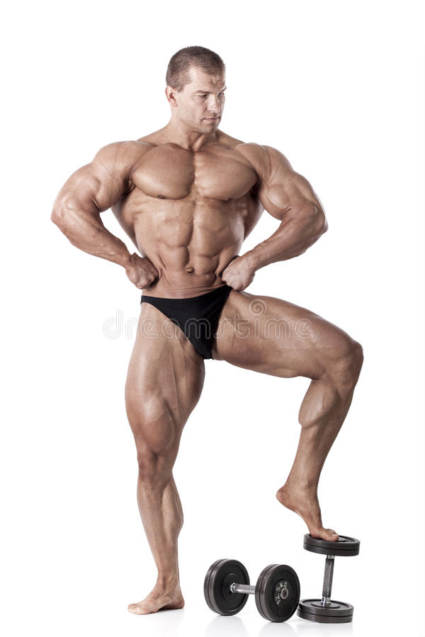 Modelo masculino musculoso imagen de archivo. Imagen de brazo - 29388815