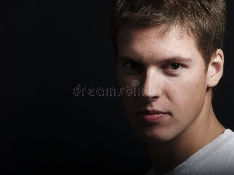 Modelo masculino novo considerável fotografia de stock royalty free