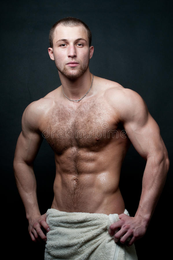 Modelo masculino quente imagens de stock royalty free