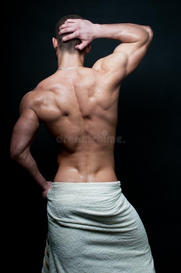 Modelo masculino quente foto de stock royalty free