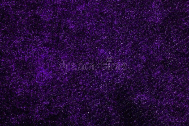 Modelo material de la textura del paño del terciopelo de las telas púrpuras del vestido Adaptación de concepto de costura Tela he fotografía de archivo libre de regalías